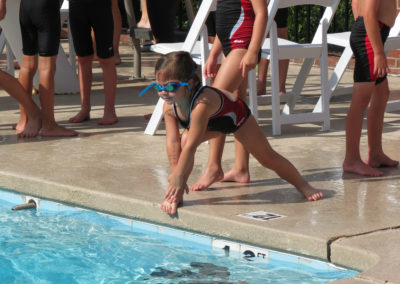 Swimmer Stretch